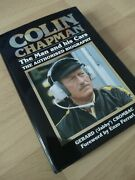Colin Chapman Lotus Founder And F1 Team Boss Authorized Biography Hardback Vgc