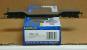 Bachmann 18349 Ho Undecorated 52and039 Depressed Flat Car Without Load/6 Axle Trucks