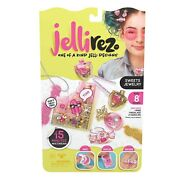 Jelli Rez Sweets Jewelry Pack - Quick And Easy Diy Resin Inspired Craft Activity K