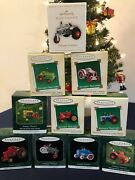 Antique Tractors Hallmark Ornaments Collection - Complete Series Of 10