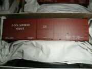Ann Arbor 36and039 Ds Wood Boxcar W/ Wood Endsand Fish Belly Under Frame Kit