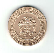 Jamaica 20 Gold Coin - 10th Anniversary Of Independence 1962-1972  15.75g 9