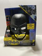 Batman The Caped Crusader Voice Changing Mask Dc 15 Phrases New In Box