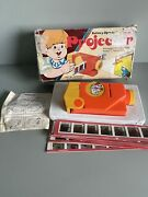 Vintage Fortuna Show On Show Toy Projector Boxed With Slides C.1970and039s Rare