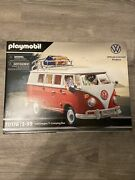 Playmobil 70176 Volkswagen T1 Camping Bus Camper Motorhome Toy Car Vw Official