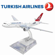 Turkish Airlines Boeing 777 Metal Miniature Commercial Plane Collection Figure