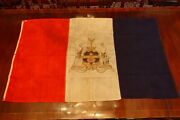 Reading Pa Pennsylvania City Flag 36x58 Wool Hand Made Collection Tag Early Rare