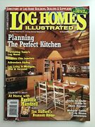 Log Homes Illustrated May 2000 Planning The Perfect Kitchen