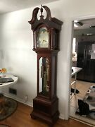 Hentschel Colonial Grandfather Clock Solid Cherry - Freight Shipping Optional