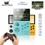 Data Frog Handheld Game Consoles Retro Video Game Console Support For Psp Ips