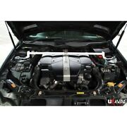 Front Strut Bar For Mercedes C209 Clk 320 3.2 V6 Andrsquo02-andrsquo10 Ultra Racing 2 Points