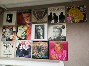 15 X Pop Vinyl Record Collection. Bowie Stones Kinks Elvis And More