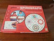 Kenner Spirograph 401 1967 Complete With Instructions, Pens And Paper - Red Tray