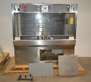 Leatherwood 72 Lab Parts Cleaning Wet Solvent Bench Stainless 2-tank Kidde