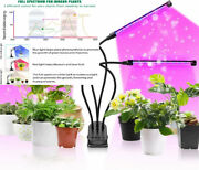 Cly Led Grow Light 90w 120 Leds 4 Head Timing Dimmable Levels Plant Grow...