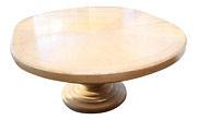 Custom Distressed French Country Guy Chaddock Style Pedestal Dining Table