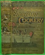 Beeton's Every-day Cookery And Housekeeping Book 1890