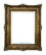 A Pair Of 13 X 18 Picture Frames Gilded In Genuine 22k Gold Leaf- Made In Usa