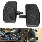 Motorcycle Footboards Floorboards For Honda Shadow Ace Vt400/750 Chopper Cruiser
