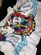Vintage Capt. Mickey Mouse Beach Towel Cruise Deluxe Disney Vintage 27x50 New