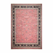 11'7 X 16'3 Rare Romanian Palace Size Hand Knotted Wool Kashaan Area Rug Pink