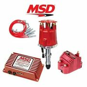 Msd 9276 Ignition Kit Programmable 6al-2/distributor/wires/coil Buick 215-350 V8