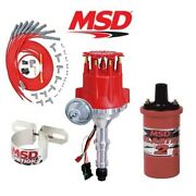 Msd 9918 Ignition Kit Ready To Run Distributor/wires/coil Buick Nailhead 322-425