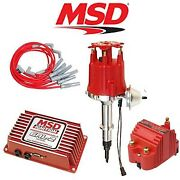 Msd 9259 Ignition Kit Programmable 6al-2/distributor/wires/coil Jeep 4.2l Inline