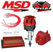 Msd Ignition Kit Digital 6 Plus/distributor/wires/coil Ford 351w W/ Victor Jr
