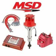 Msd Ignition Kit Programmable 6al-2/distributor/wires/coil - Ford 302 Small Cap