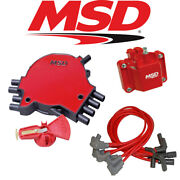 Msd Ignition Tuneup Kit - 1994 Caprice/impala Ss 5.7l Lt1 Cap/rotor/coil/wires