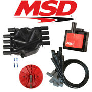 Msd Ignition Tuneup Kit - 96-98 Chevy/gmc Vortec 5.0/5.7l Cap/rotor/coils/wires
