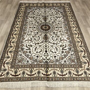 Yilong 5and039x8and039 Silk Area Rugs Vintage Handcraft Hand Knotted Indoor Carpets 021b