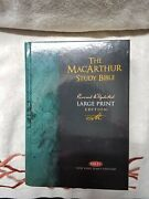 Nkjv, The Macarthur Study Bible, Large Print, Hardcover Holy Bible, New With Dc