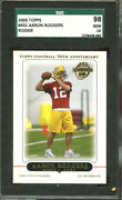2005 Topps Football 431 Aaron Rodgers Rc Sgc 98 10 1378408-089