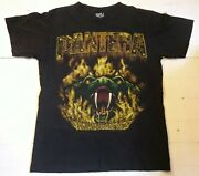 Pantera With Snake Eyes Vintage T Shirt M Thrash Metal Cowboys From Hell Down Lp