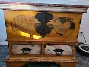 Anitique Weathered Chest