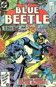 Blue Beetle 4 Comic 1986 - Dc Comics - Ted Kord - Booster Gold - Justice League