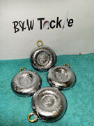 4 Oz Lead River Coin Sinkers /decoy Weight -choose Quantity Free Shipping