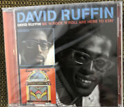 David Ruffin/me 'n Rock 'n Roll Are Here To Stay By David Ruffin Cd,...