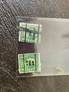 1930s Ben Franklin1 Cent Stamp. 2 Different Stamps One Could Be The Very Rare 1