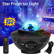 Led Galaxy Star Night Lamp Starry Sky Projector Light Ocean Wave Baby Xmas Gift