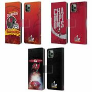 Nfl 2021 Super Bowl Lv Champions Leather Book Case For Apple Iphone Phones
