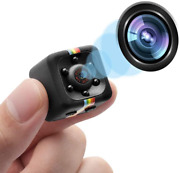 Spy Camera Wireless Hidden 1080p Mini Cam With Night Vision And Motion Detection