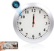 Wireless Nanny Camera Hd 1080p Wall Clock Camera With Wifi Real-time Video Dvr