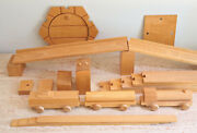 Kay Bojesen - Wooden Ferry Train Set - 1960and039s - Rare ... Price Reduced