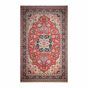 12and039 X 18and0391 Palace Hand Knotted Wool Rare Romanian Herizz Area Rug Terracotta