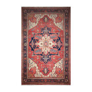12'1x 19'6 Hand Knotted Wool Rare Romanian Herizz Area Rug Terracotta 12x20