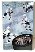 Wayne Gretzky 1993-94 Los Angeles Kings Media Guide 93 Campbell Conf Champs Goat