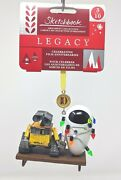 Disney Wall-e And Eve Christmas Ornament 10th Anniversary Limited Release Nwt